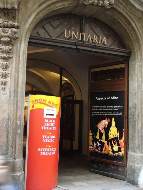 Театр Ta Fantastika - вход