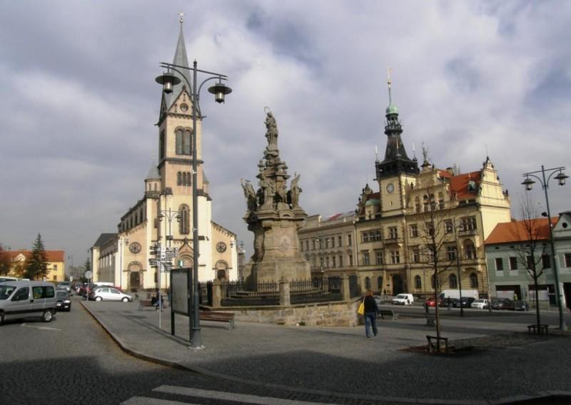Исторический центр Кладно