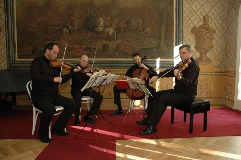 Музей Моцарта - музыканты
