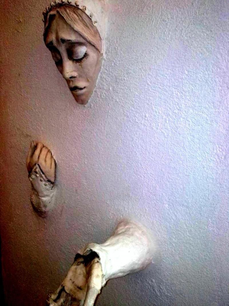 Музей призраков - женьщина
