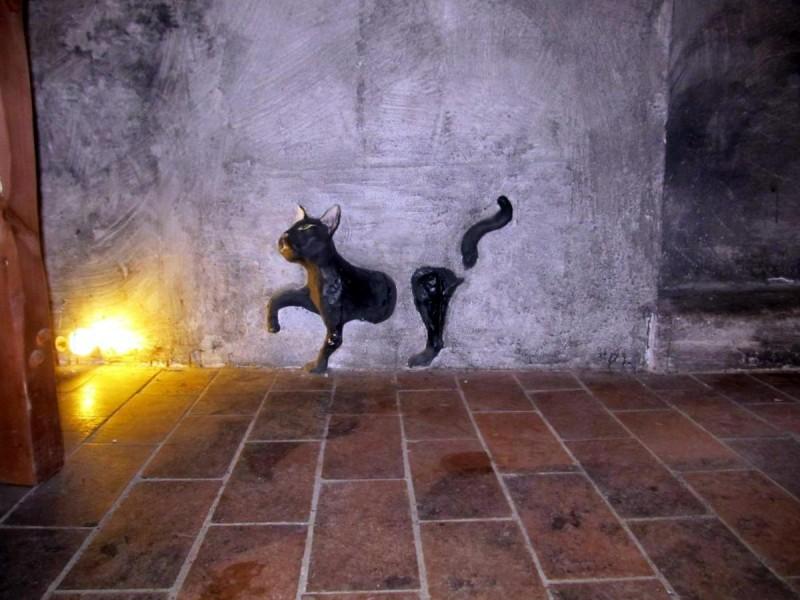 Музей призраков - кошка