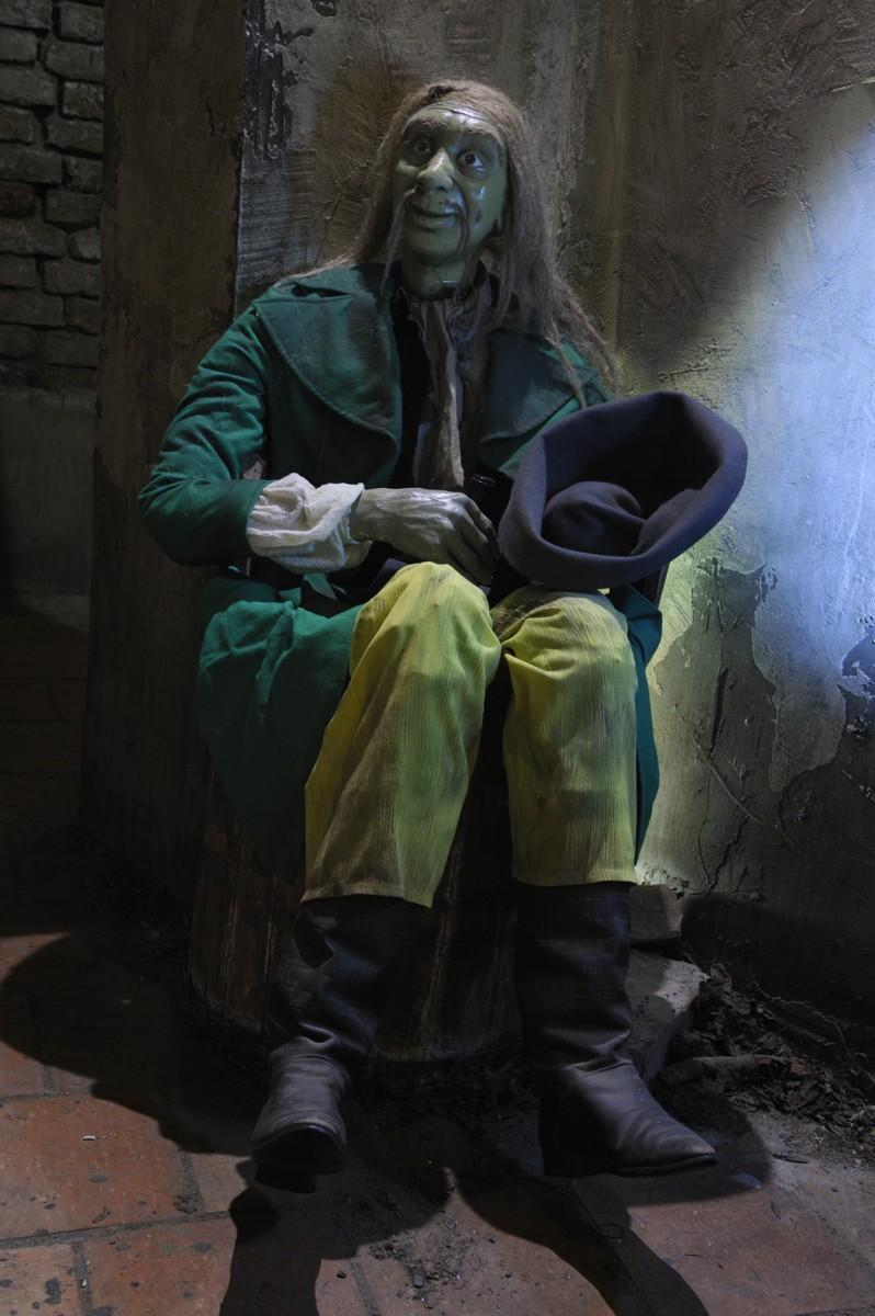 Музей призраков - мужчина