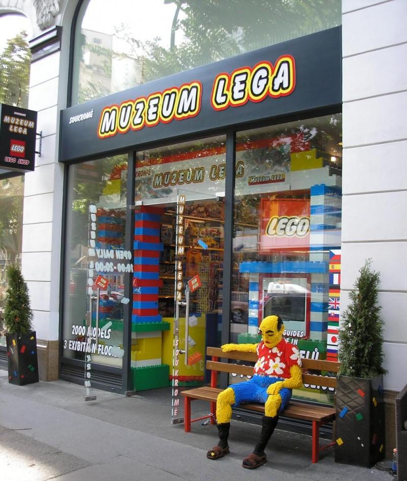Музей Lego в Праге