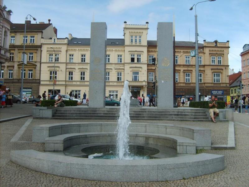 Пльзень - фонтан