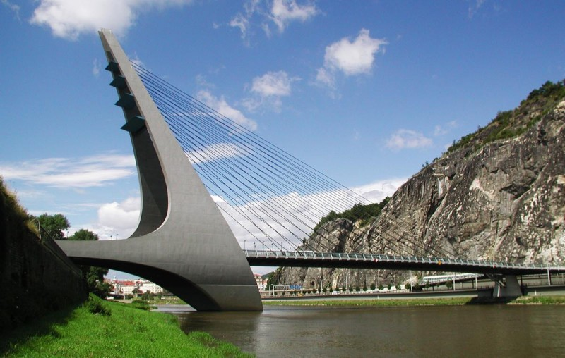 Усти-над-Лабем - Марианский мост