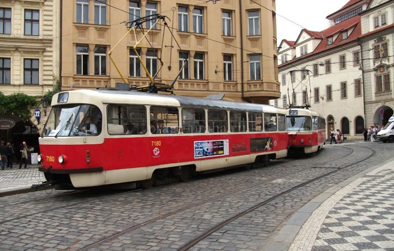 Трамваи в Праге 22
