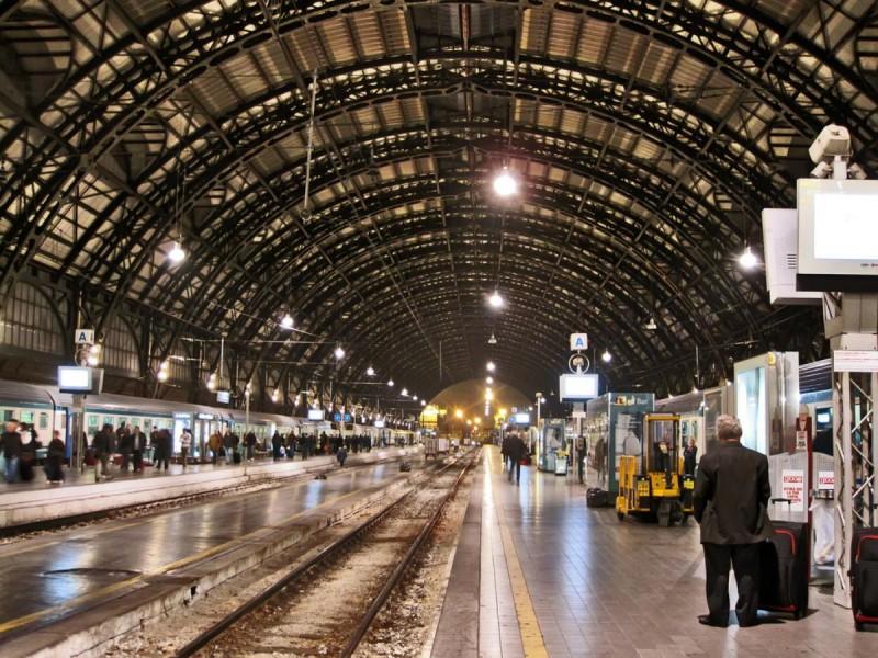 милан жд вокзал