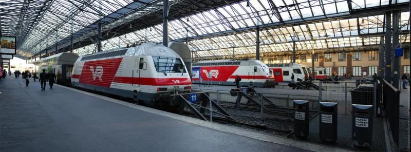 хельсинки жд вокзал