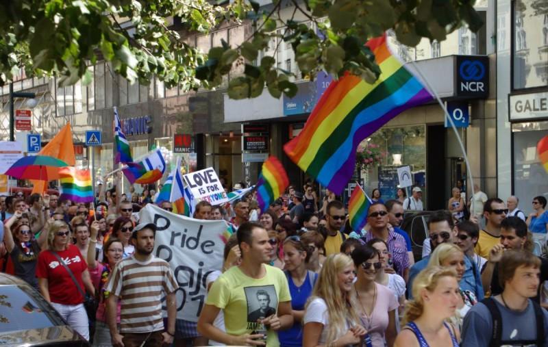 Гей-парад в Праге 2