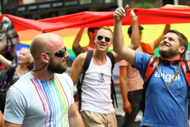 Гей-парад в Праге 3