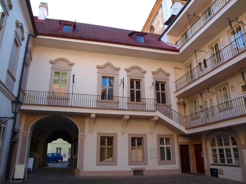 Velkopřevorský palác - двор