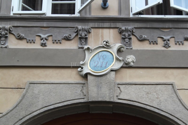 Нумерация домов в Праге 3