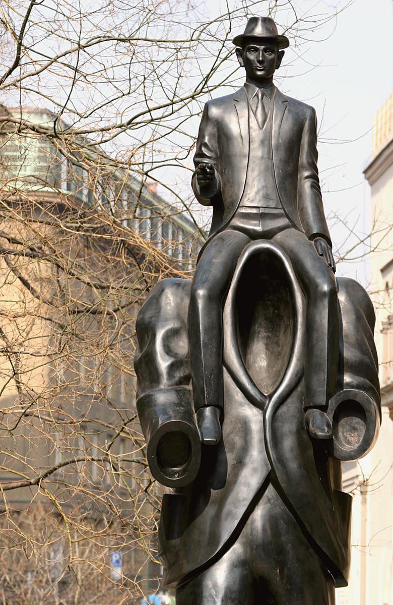 Памятник Францу Кафке