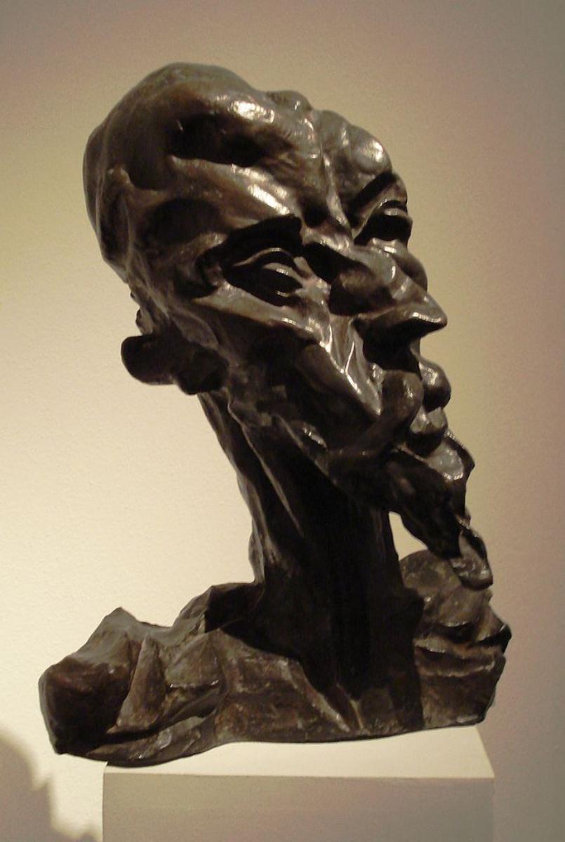 Скульптуры Отто Гутфройнда