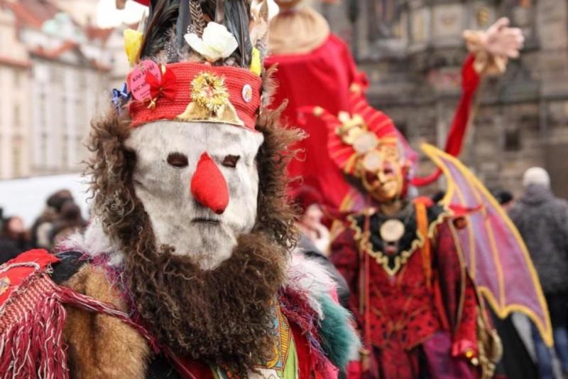 Богемский карнавал в Праге 2