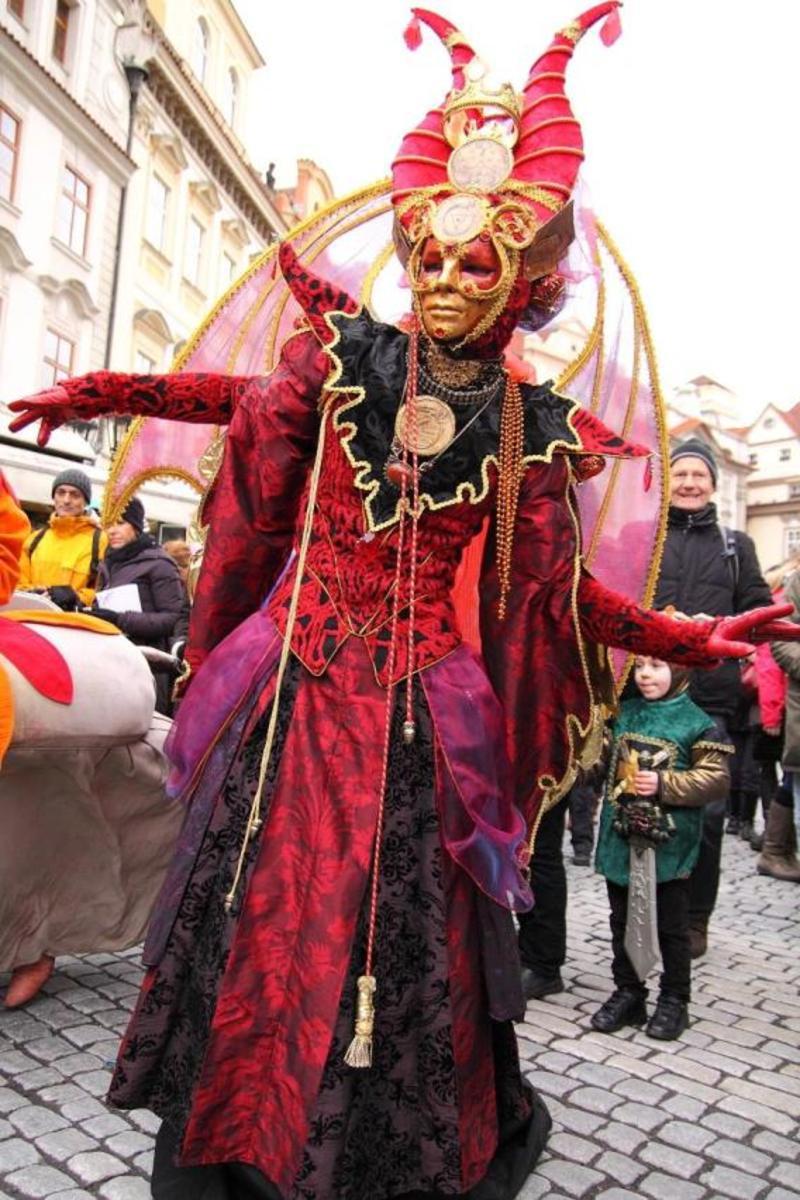 Богемский карнавал в Праге 3