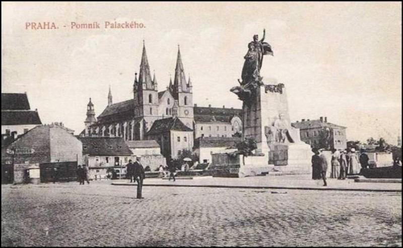 Площадь Палацкого - история