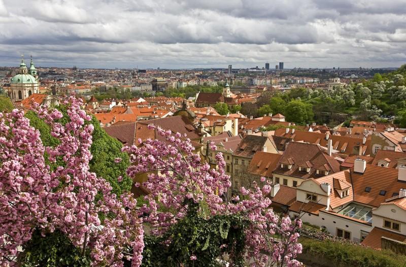 Погода в Праге весной 3