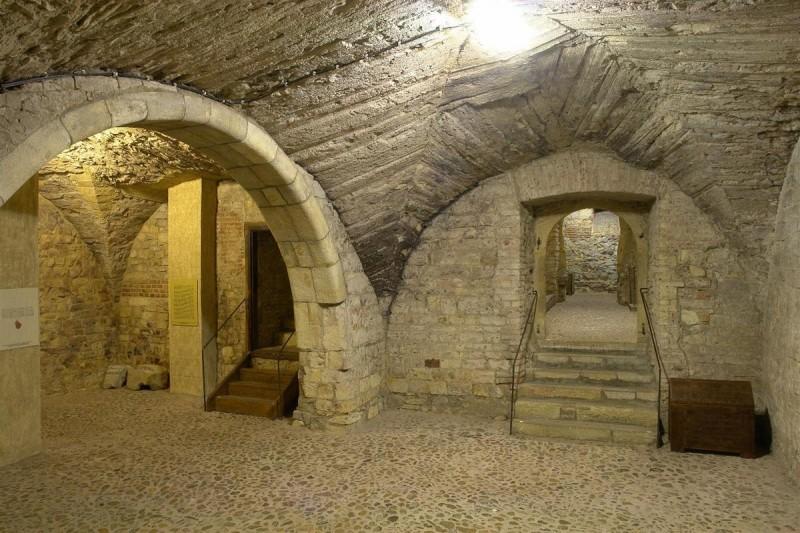 Подвалы Староместской ратуши