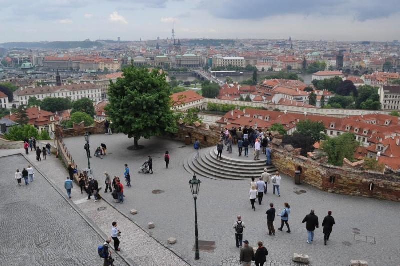 Смотровые площадки у стен Пражского Града
