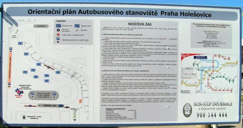 Автовокзал Голешовице 2