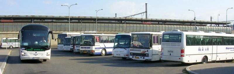 Автовокзал Голешовице 3