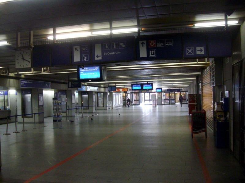 Железнодорожный вокзал Голешовице - зал