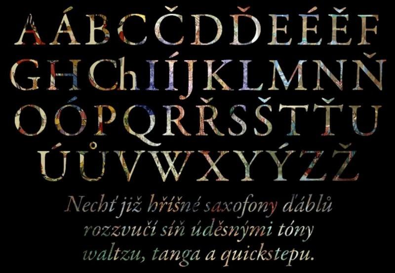 Чешский алфавит 2