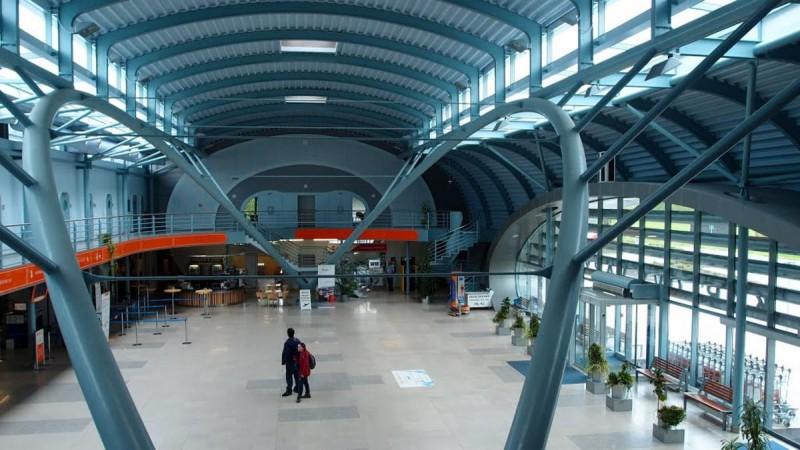 Аэропорт Карловы Вары - зал 3