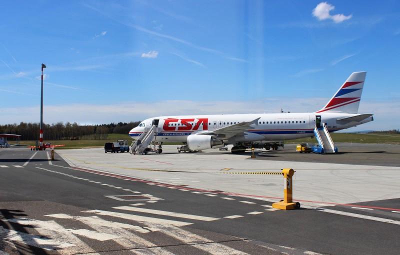 Аэропорт Карловы Вары - полоса
