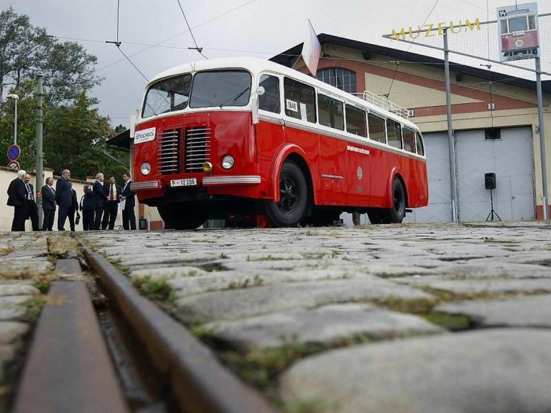 Музей общественного транспорта - автобус