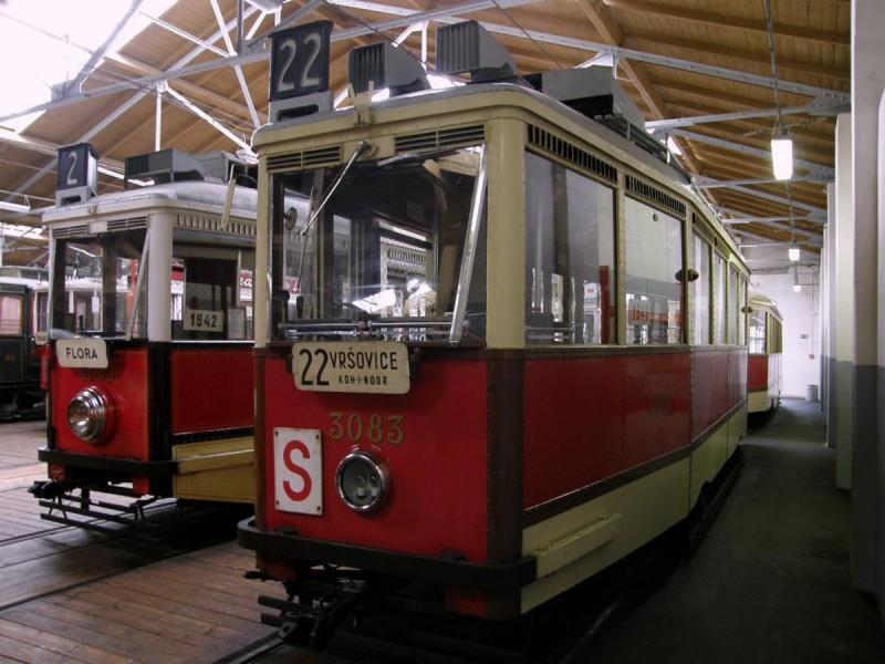 Музей общественного транспорта - трамваи 2