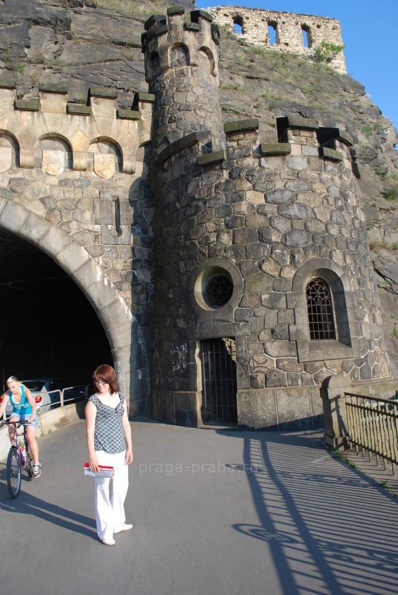 Вышеградский туннель 3
