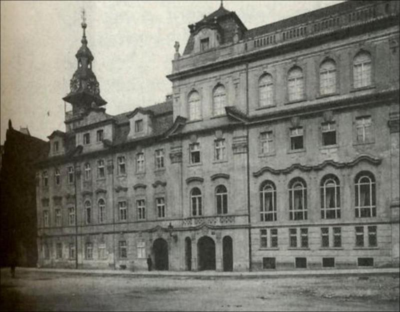 Еврейская ратуша - история
