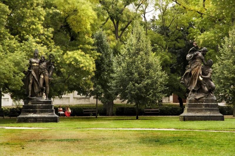 Парк на Вышеграде 4