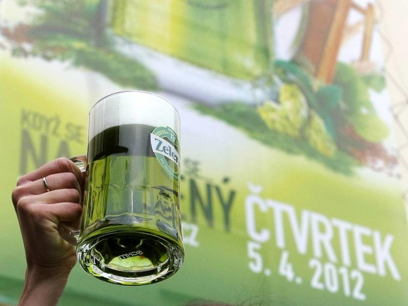 Пасха в Праге - пиво