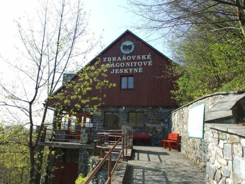 Збрашовске арагонитове пещеры - служебное здание
