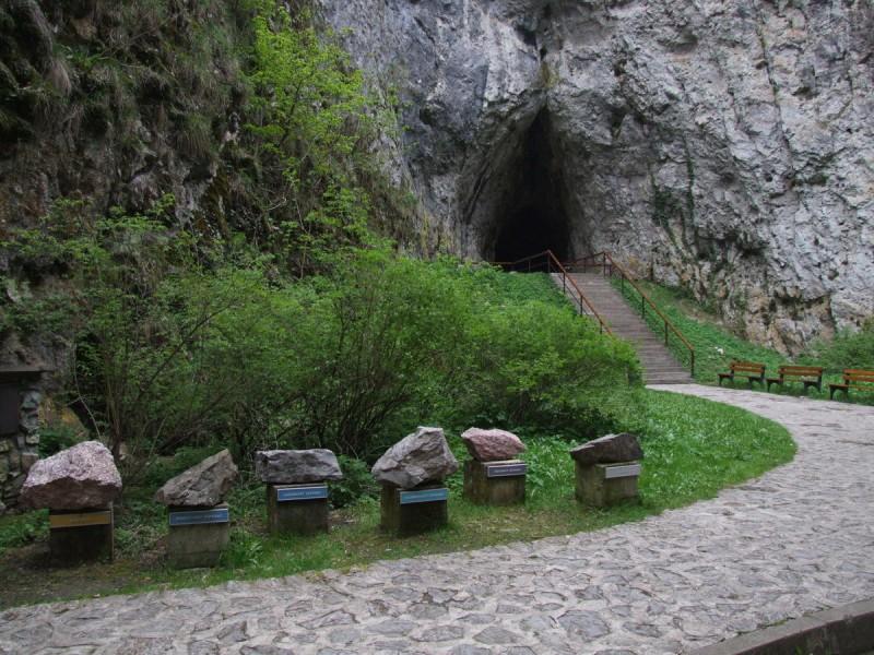 Пещера Балцарка - вход 2