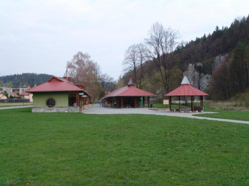 Слоупско-Шошувские пещеры - служебное здание