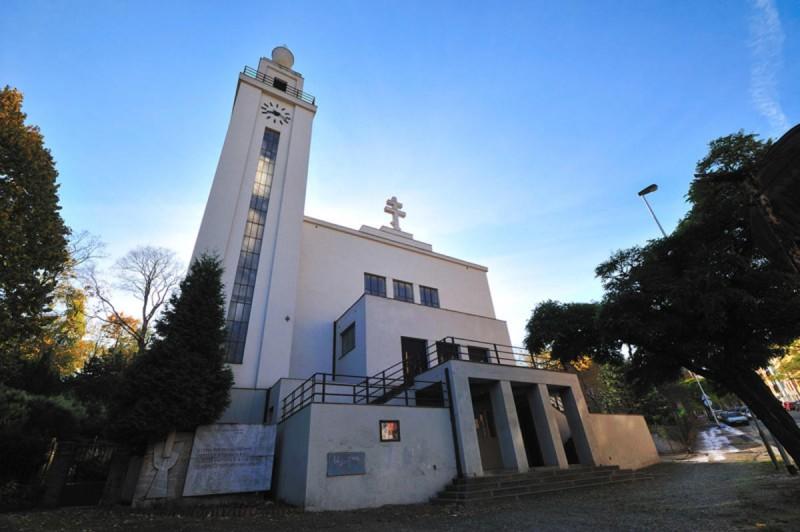 Гуситская церковь в Смихове