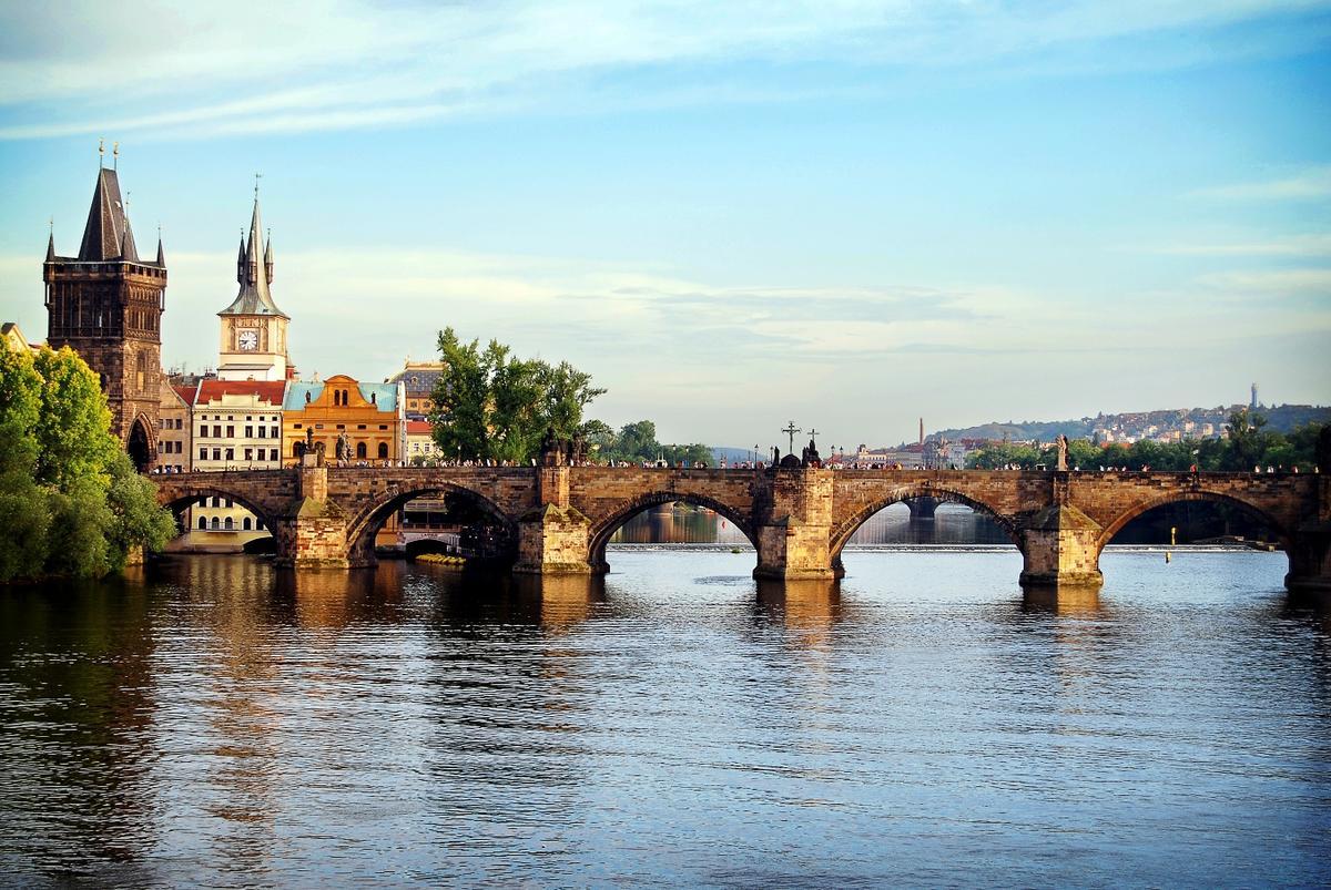 Мосты чехии в картинках