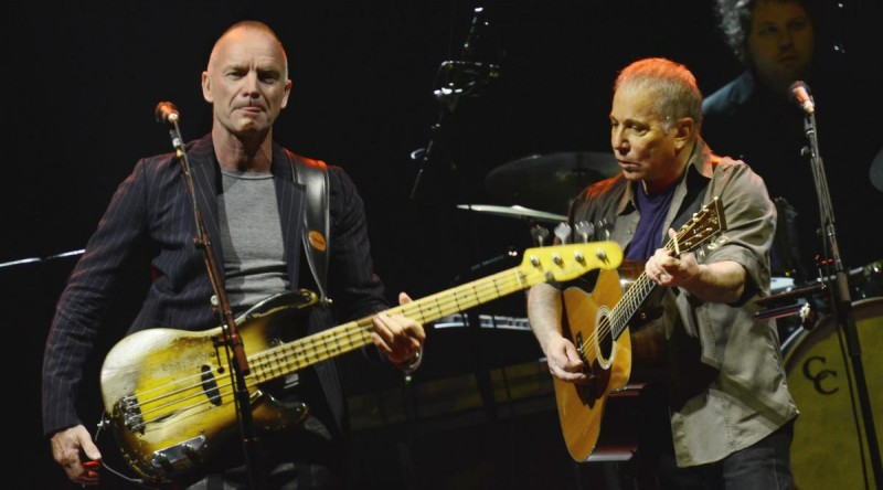 Paul Simon & Sting 3
