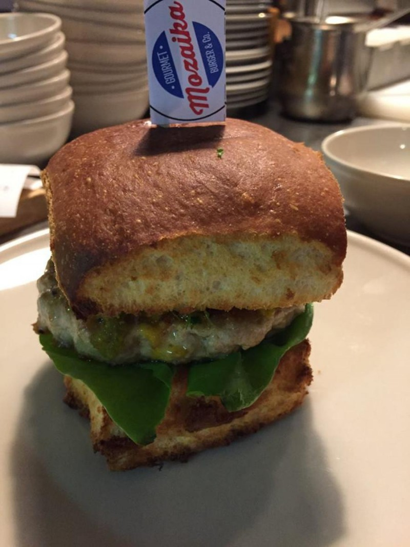 Пивная Mozaika Burger 10