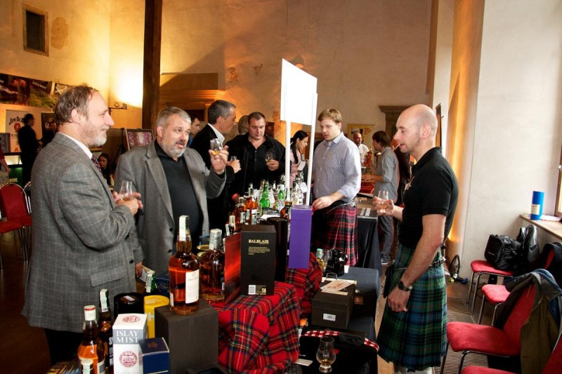 Фестиваль виски в Праге 5