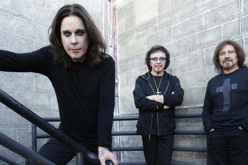 Концерт Black Sabbath в Праге 1