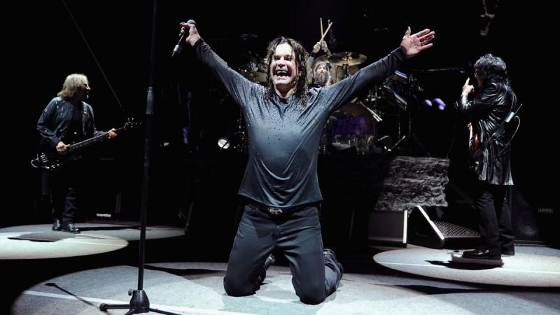 Концерт Black Sabbath в Праге 2