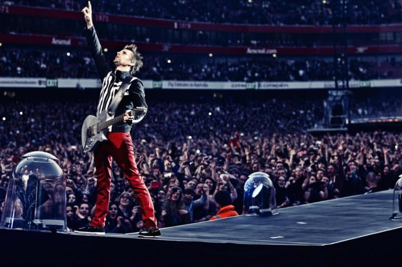 Концерт Muse в Праге 1