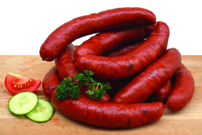 Мясные колбаски 2