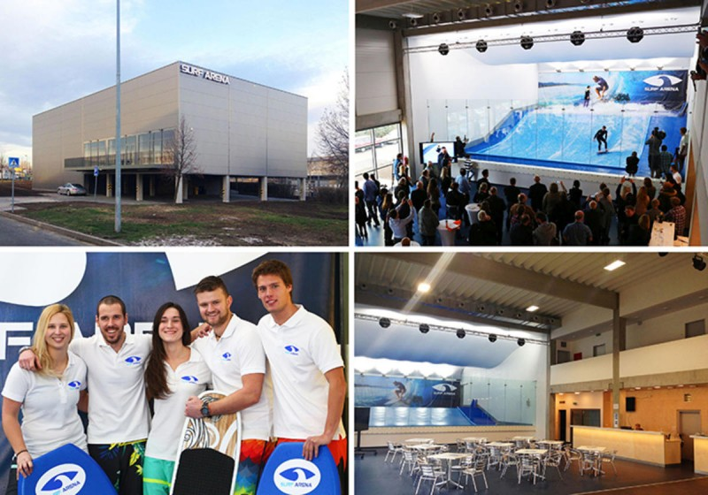Surf Arena в Праге 6