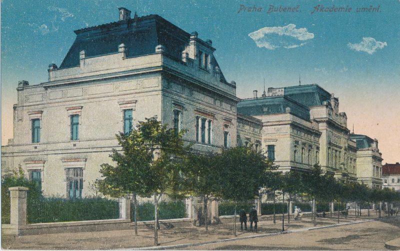 Академия изобразительных искусств в Праге 7